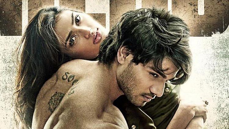 Sooraj Pancholi and Athiya Shetty strike a pose for <i>Hero.</i>