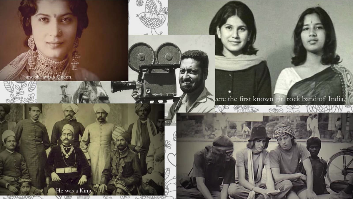 Anusha Yadav of Indian Memory Project believes that photographs aren't just visual moments, they tell a much larger story (Photo: YouTube/indianmemoryproject)