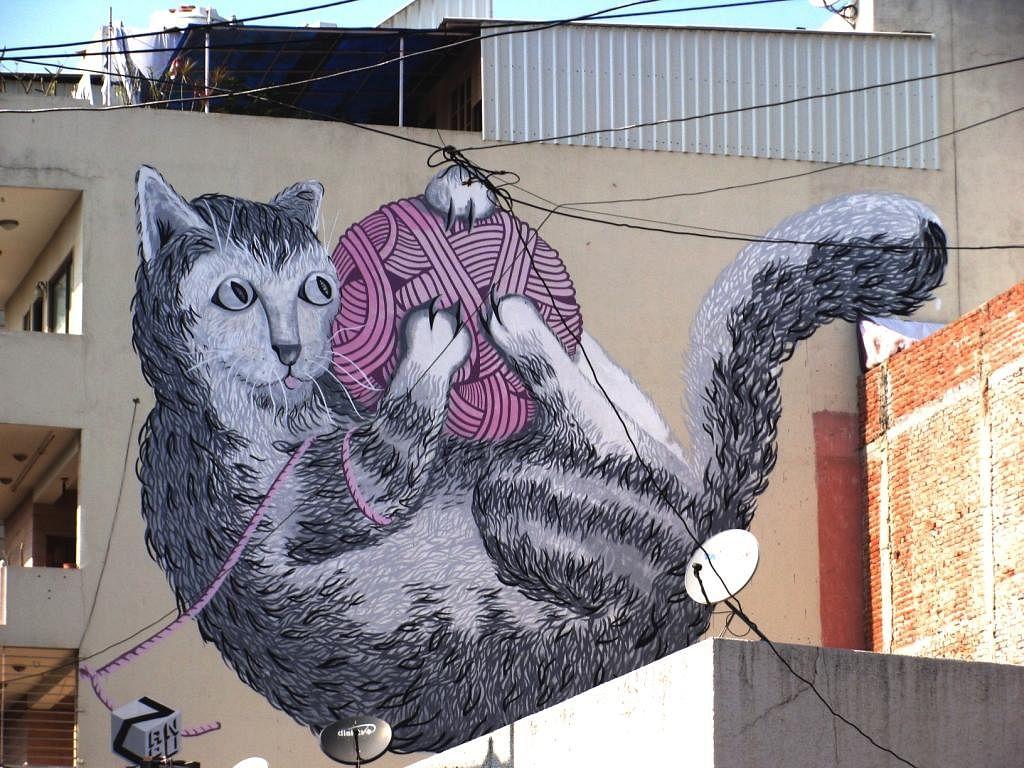Anpu's mural at Shahpur Jat. (Photo: Zoya Rasul)