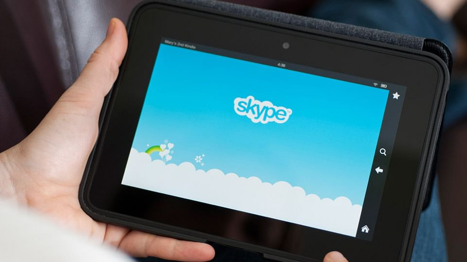 Microsoft Skype on an Android Tablet. (Photo: iStock)