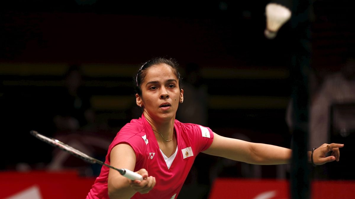 Saina Nehwal in action in the World Championships in August. (Photo: Reuters)