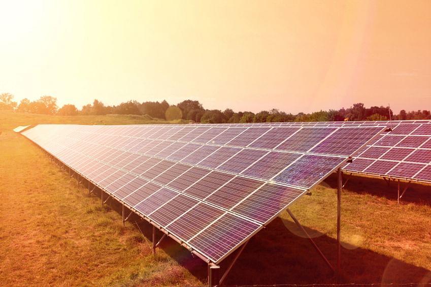 Solar panels. Representational image.
