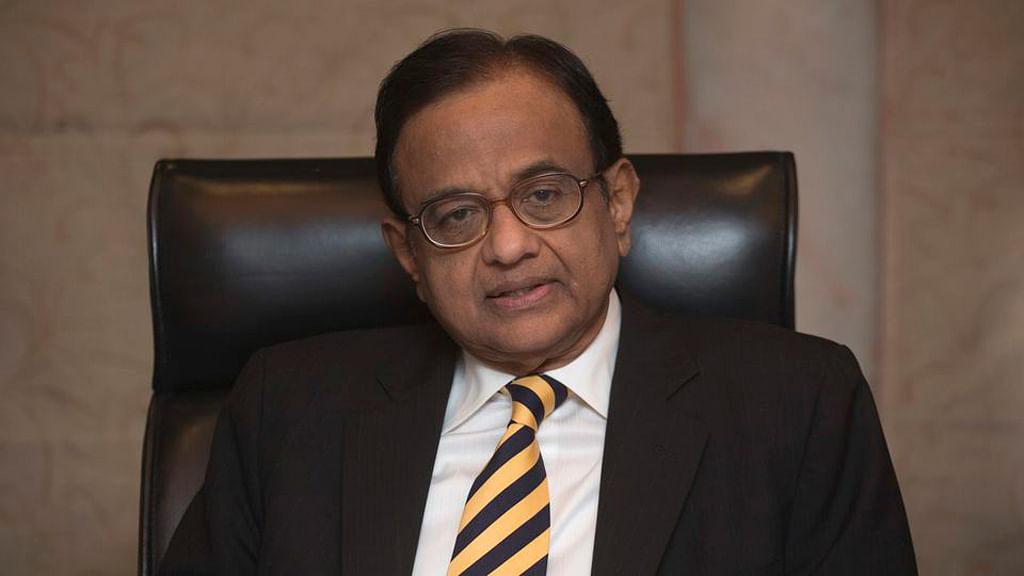 Former Finance Minister P Chidambaram. (Photo: Reuters)