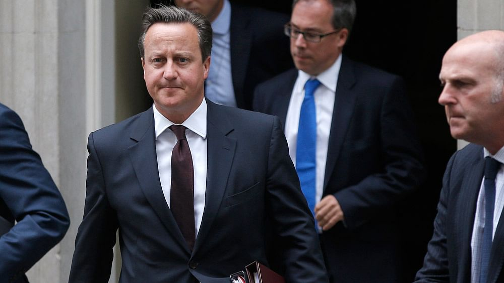 UK Prime Minister David Cameron. (Photo: Reuters)