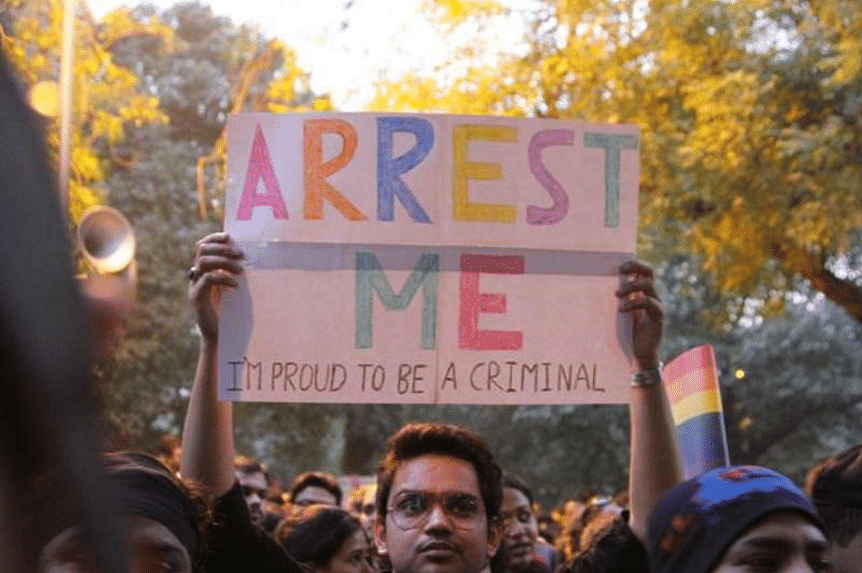 """I can't be arrested for being gay in India (Photo: Twitter/<a href=""""https://twitter.com/gmafiarosa/status/651369256173617152"""">@gmafiarosa</a>)"""