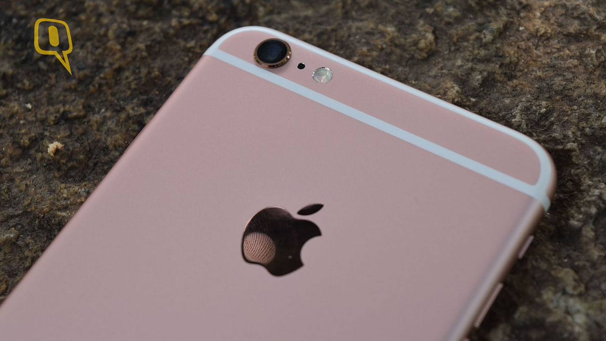 The 12MP iSight Camera on the Apple iPhone 6s Plus. (Photo: <b>The Quint</b>)