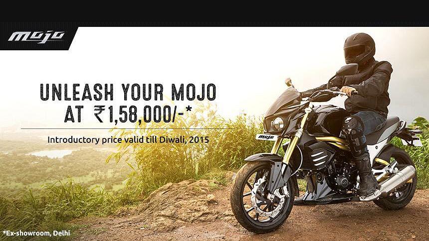 "Mahindra Mojo launched in India. (Courtesy: <a href=""https://twitter.com/MahindraMojo_"">Twitter/@MahindraMojo_</a>)"