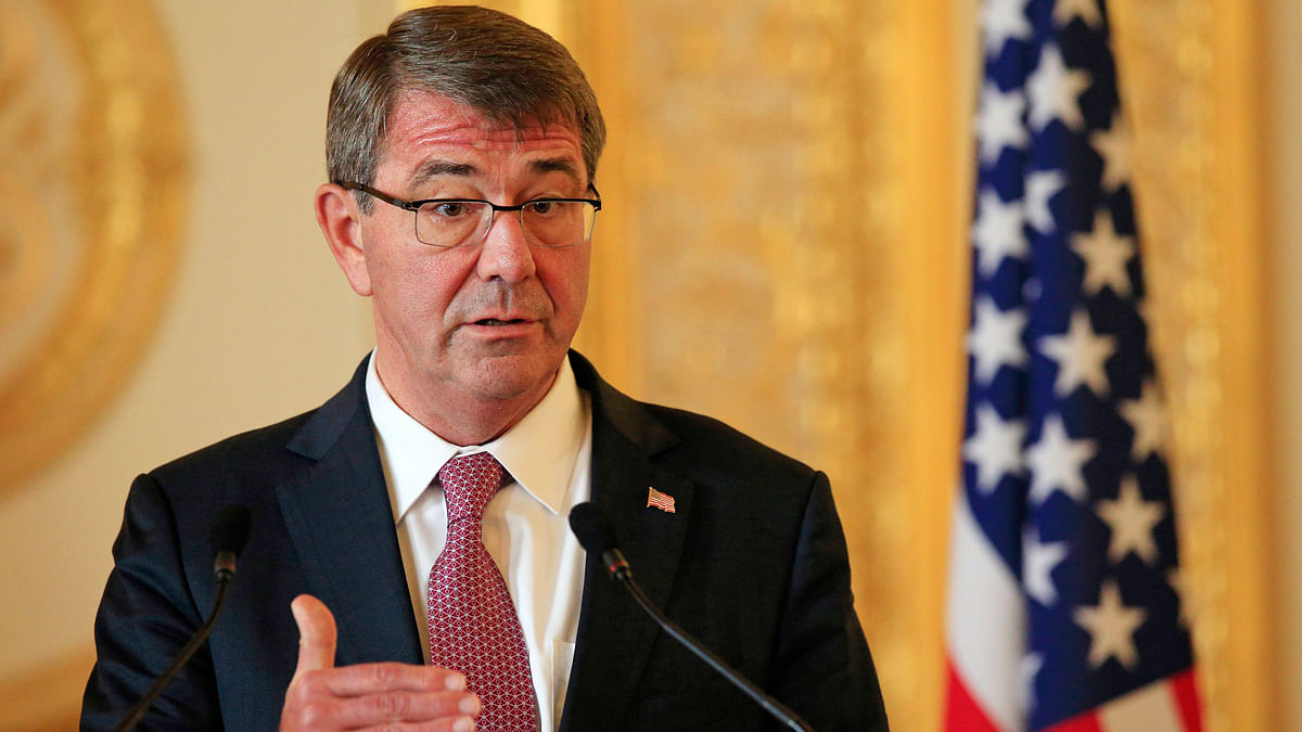 US Defence Secretary Ashton Carter (Photo: Reuters)