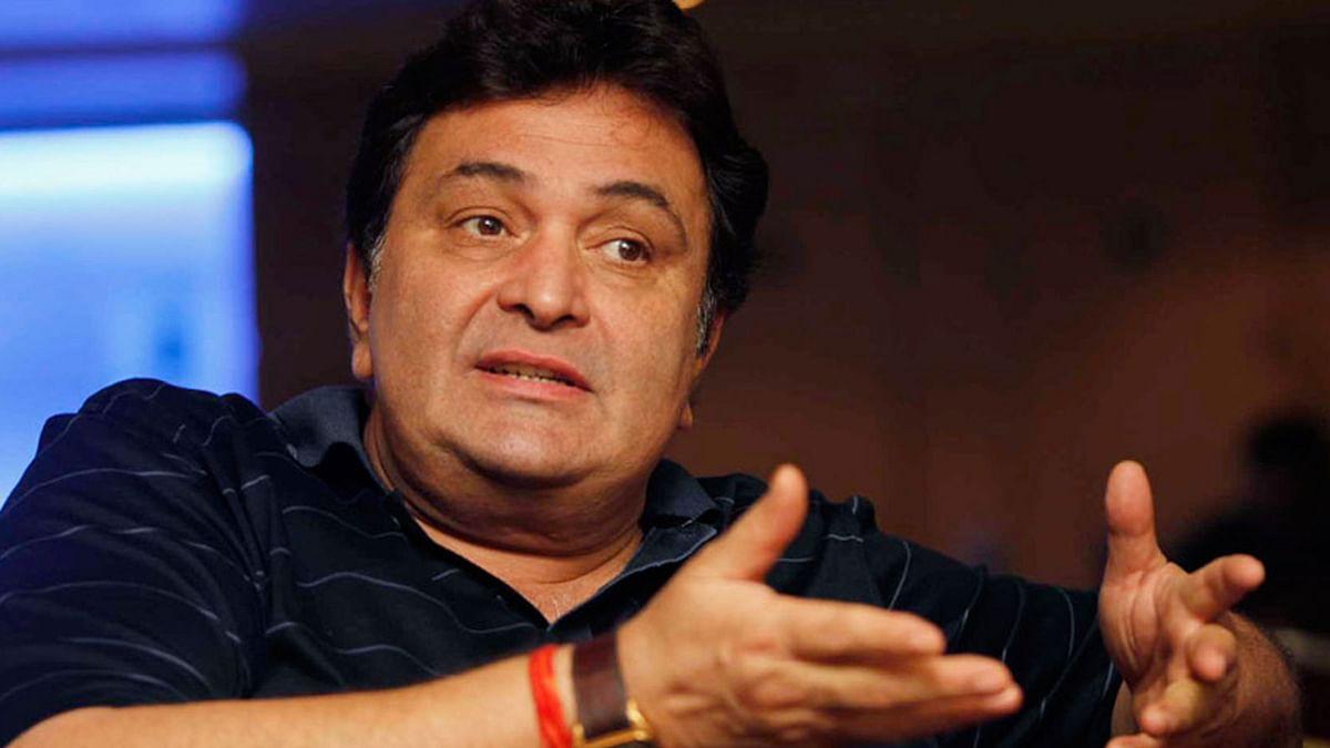 Senior actor Rishi Kapoor. (Photo: Reuters)