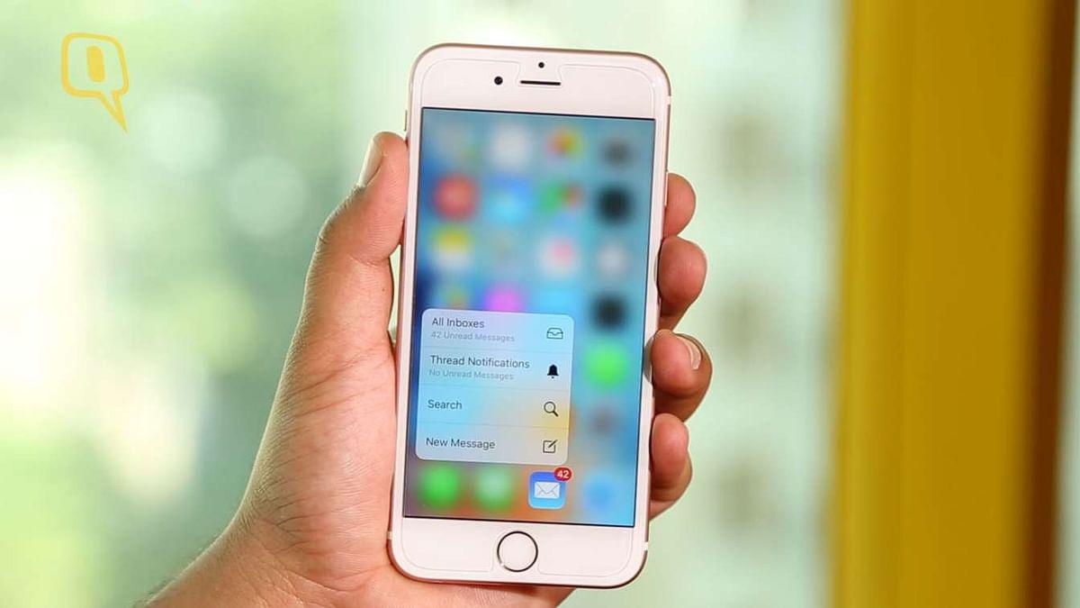 Apple iPhone 6s. (Photo: <b>The Quint</b>)