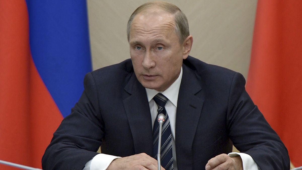 Russian President Vladimir Putin suspended a treaty with Washington on cleaning up weapons-grade plutonium on Monday. (Photo: Reuters)