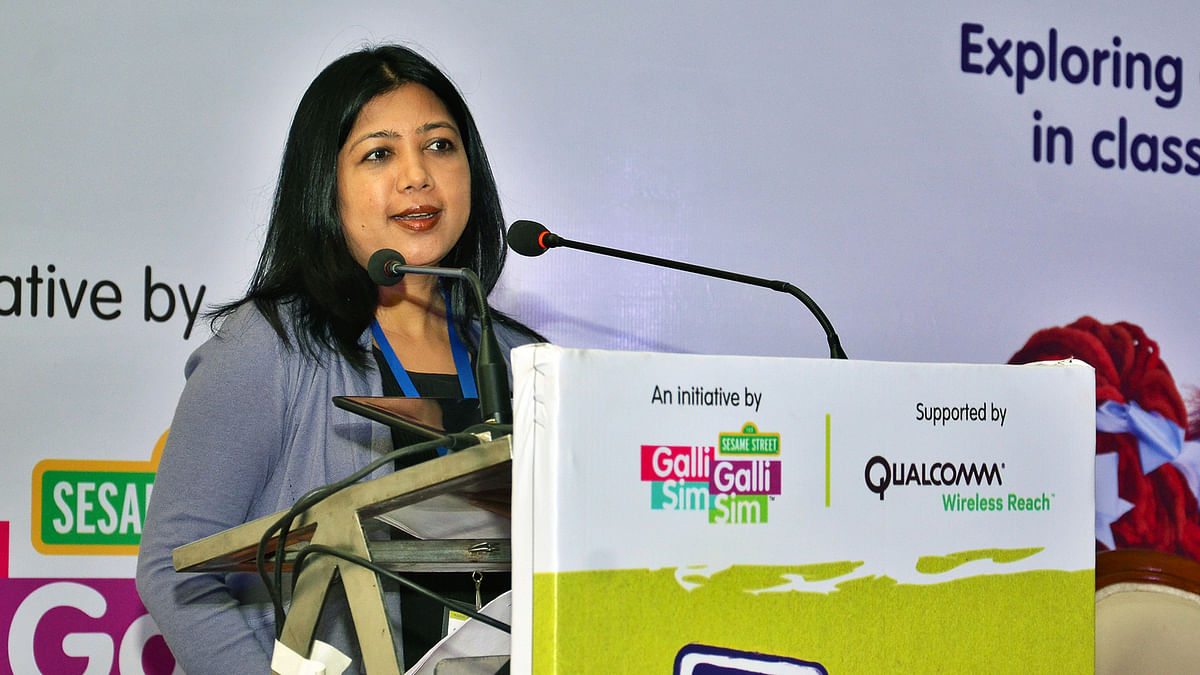 Monalisa Sahoo, Senior Director of Marketing at Qualcomm India & South Asia.
