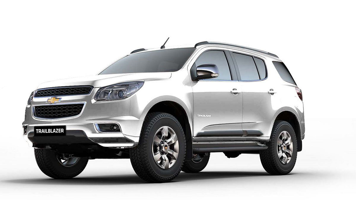 Chevrolet Trailblazer. (Courtesy: Chevrolet)