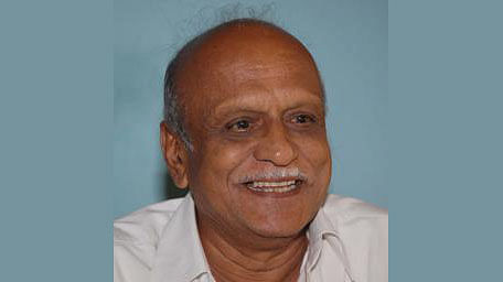 The rationalist Dr MM Kalburgi, who was murdered by two gunmen.