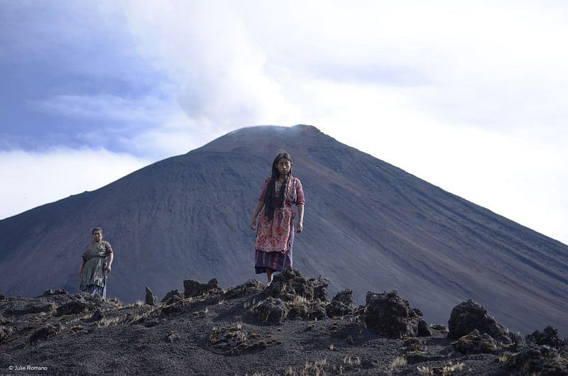 A still from <i>Ixcanul Volcano</i>