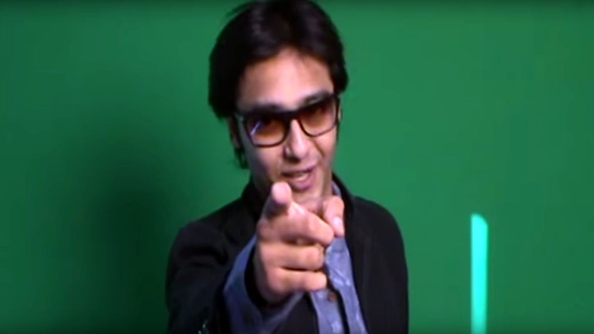 "Screengrab from VIshal Thakkar's audition tap. (Courtesy: <a href=""https://www.youtube.com/watch?v=veFdee0EXTU"">YouTube</a> screengrab)"