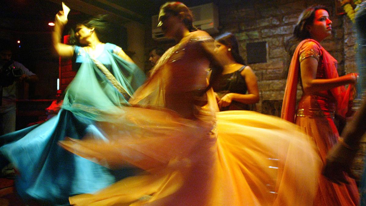 Women perform at a dance bar in Mumbai. (Photo: Reuters)