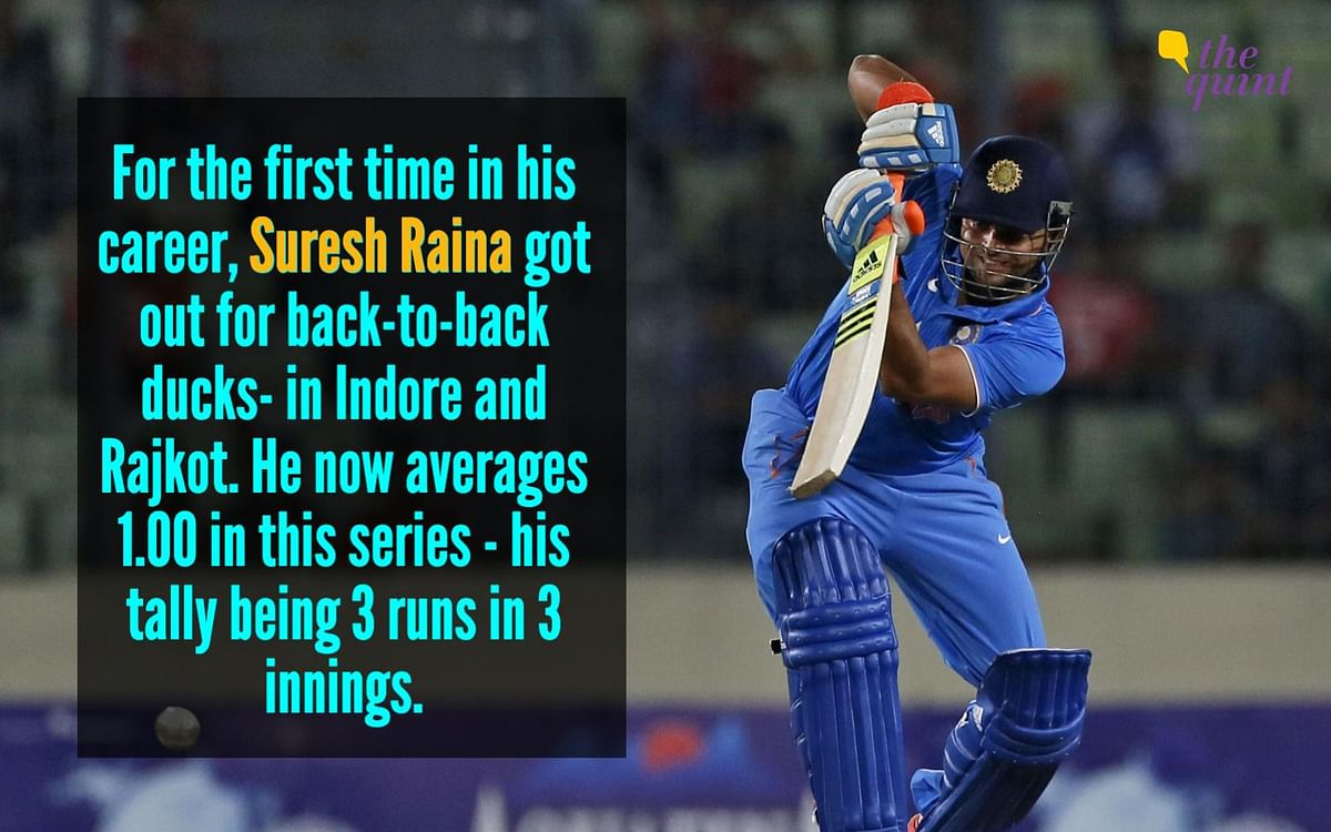 9 Stats From The Rajkot ODI That Put Bhuvi & Raina Firmly in Focus