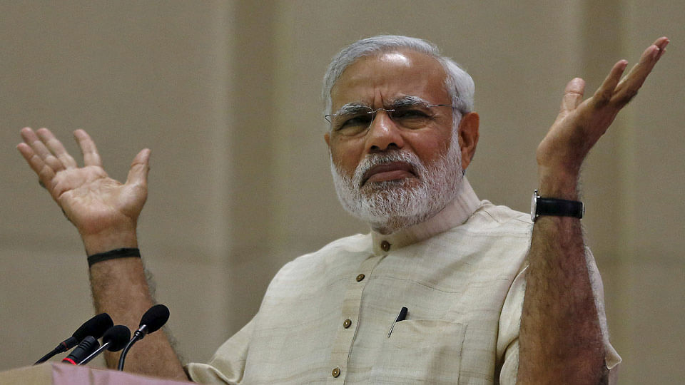 """No scaling back due to """"perceived losses"""", Modi gets back into campaign mode after 10-day break. (Photo: PTI)"""