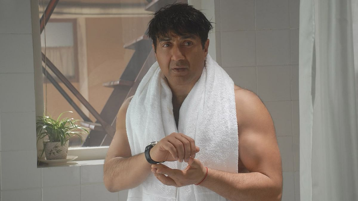 Sunny Deol in a scene from his last release <i>I Love NY </i>
