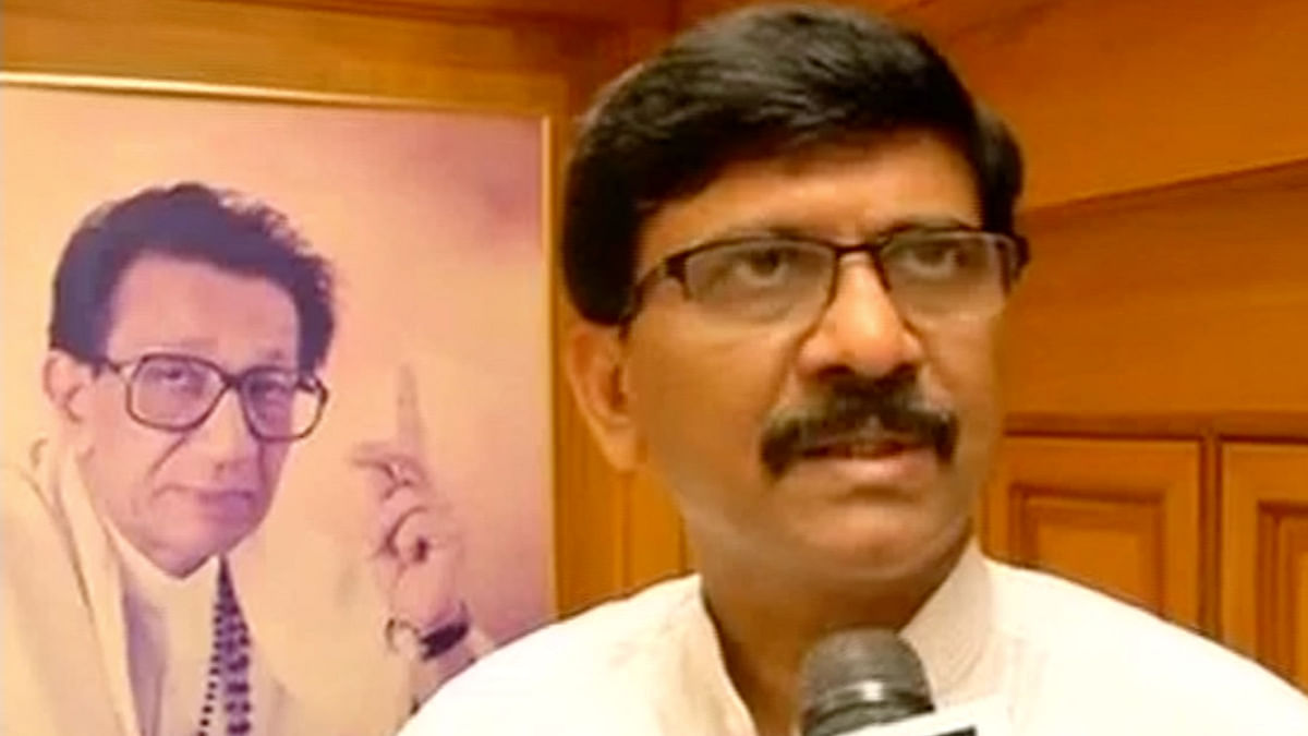 Member of Parliament from Shiv Sena, Sanjay Raut.
