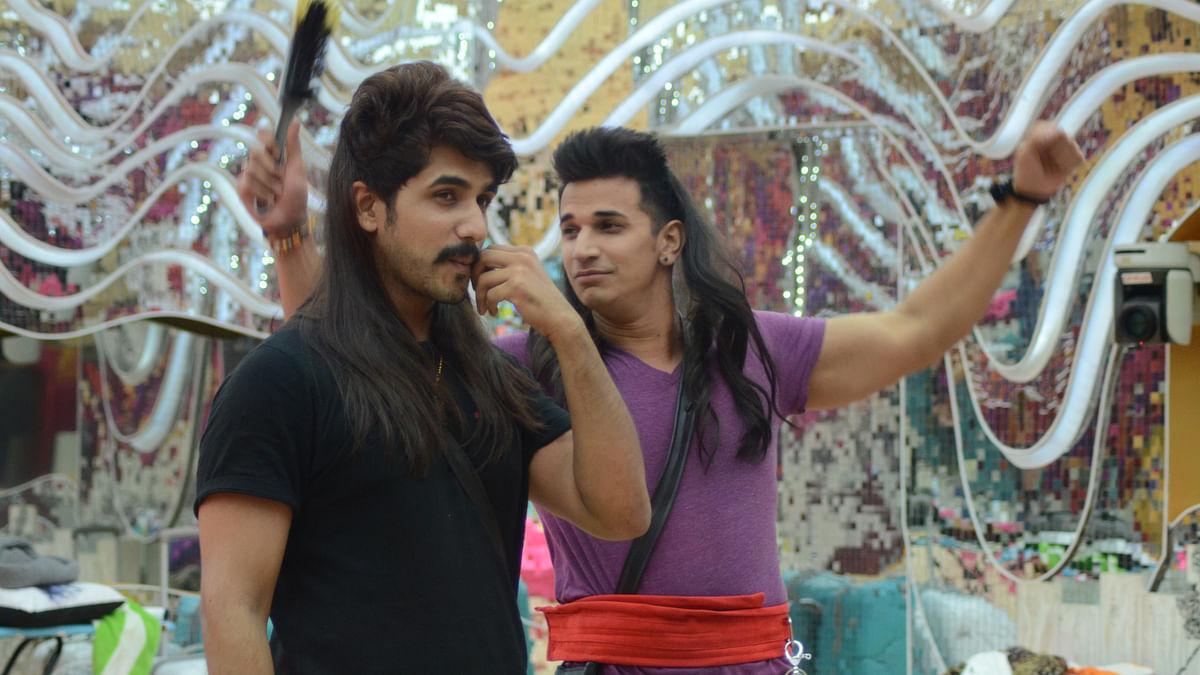 Suyyash and Prince get quirky inside the <i>Bigg Boss</i> house