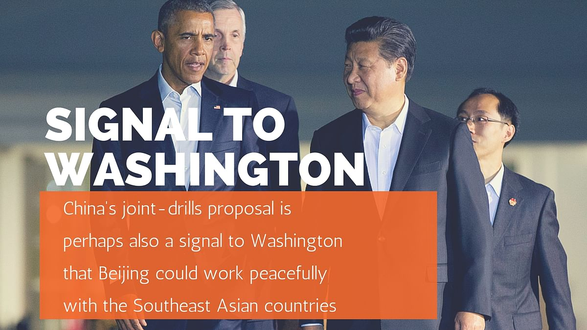 China's Proposed Naval Drill with ASEAN States  to Check the US
