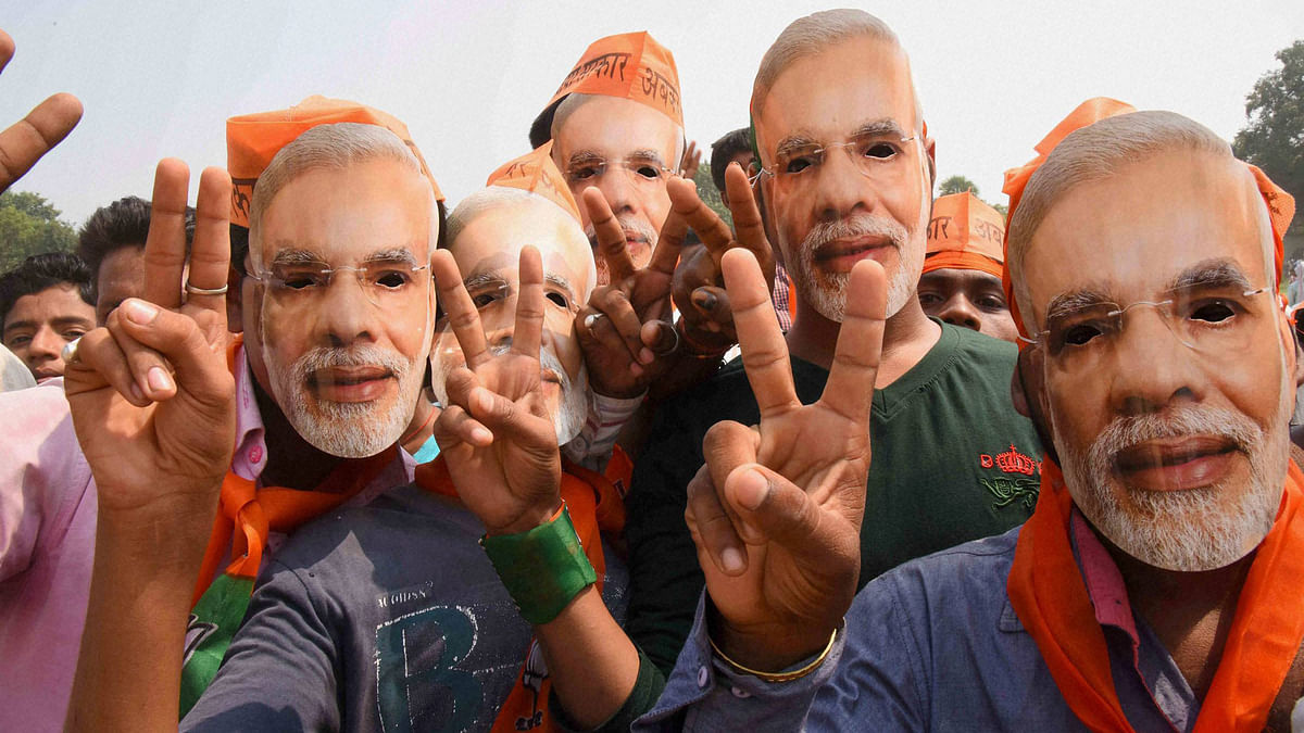 There is greater use of Hindi in slogans, and flex banners that celebrated Ram Navami and Hanuman Jayanti. (Photo for representation purpose: PTI)