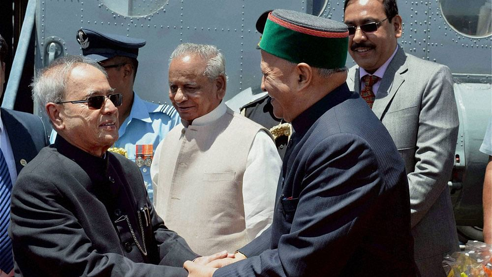 File photo of Himachal Pradesh Chief Minister Virbhadra Singh. (Photo: PTI)