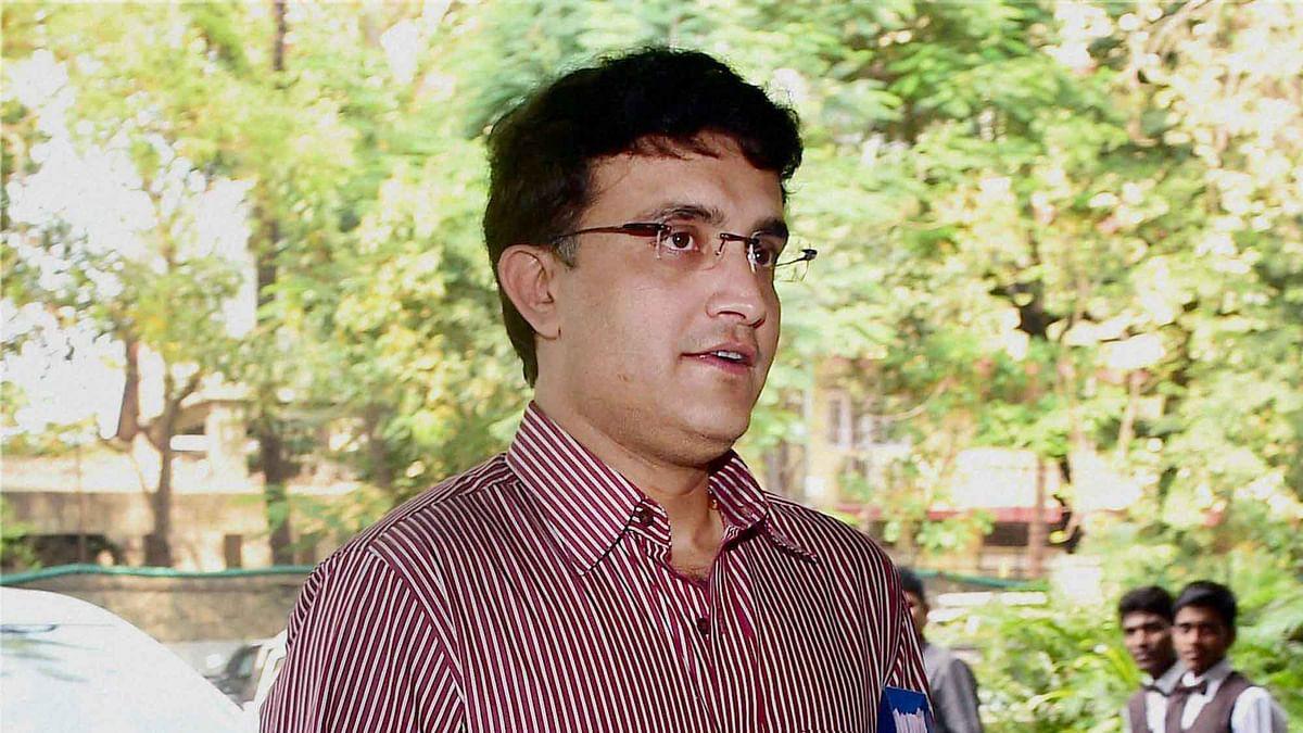 Sourav Ganguly. (Photo: AP)