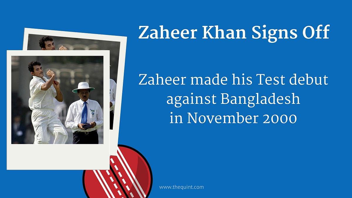 A Look Back at Bowling Coach Zaheer Khan's India Career via 7 GFX