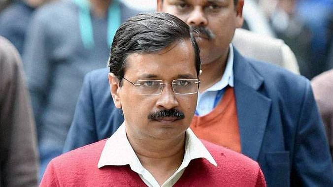 Security was stepped up in and around Delhi Secretariat and the Chief Minister's residence. (Photo: PTI)