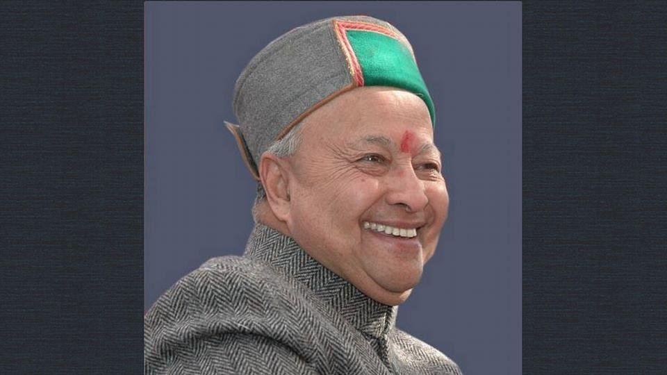 "File photo of Himachal CM Virbhadra Singh. (Photo: <a href=""https://twitter.com/virbhadrasingh"">Twitter/@VirbhadraSingh</a>)"