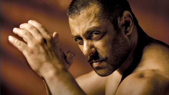 "Salman Khan in a still from Sultan. (Photo Courtesy: <a href=""https://twitter.com/SultanTheMovie/status/652374993641308160"">Twitter/@Sultan</a>)"