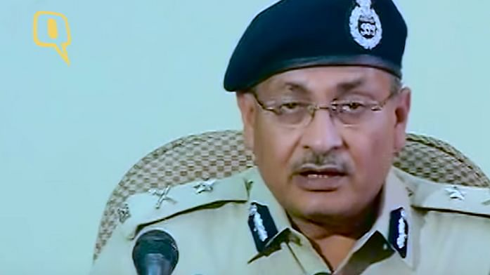 """Dependra Pathak, Joint Commissioner of Police, South-Western Range (Photo: YouTube <a href=""""https://www.youtube.com/watch?v=qCLIPooUwEs"""">screengrab</a>)"""
