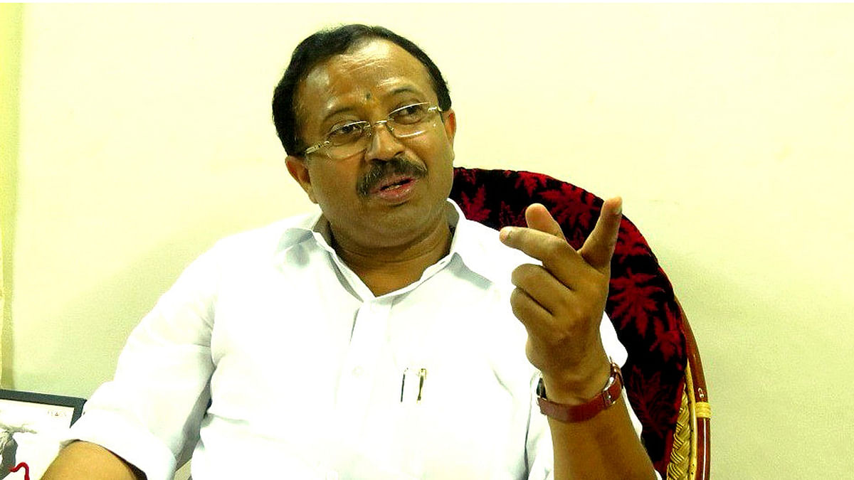 Kerala BJP chief Muraleedharan. (Courtesy: The News Minute)