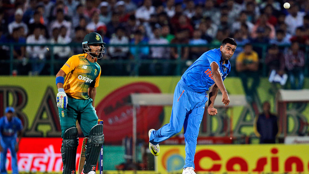 R Ashwin picked up an injury in the 1st ODI against South Africa. (Photo: Reuters)