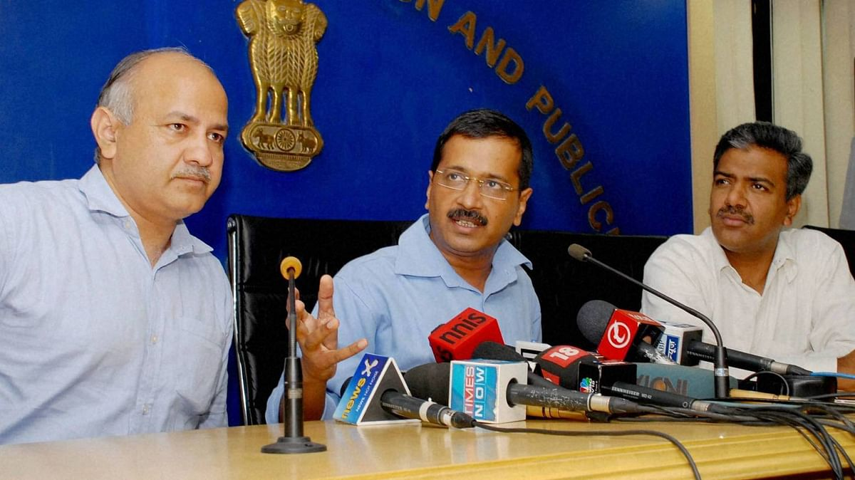 The decision to appoint the GoM was taken at a Cabinet meeting presided by Kejriwal. (Photo: PTI)