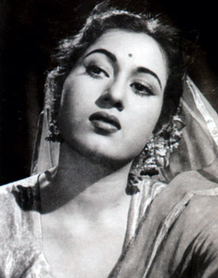 Madhubala in the film Dhaake ki Malmal. (Photo Courtesy: Khalid Mohamed's Collection)