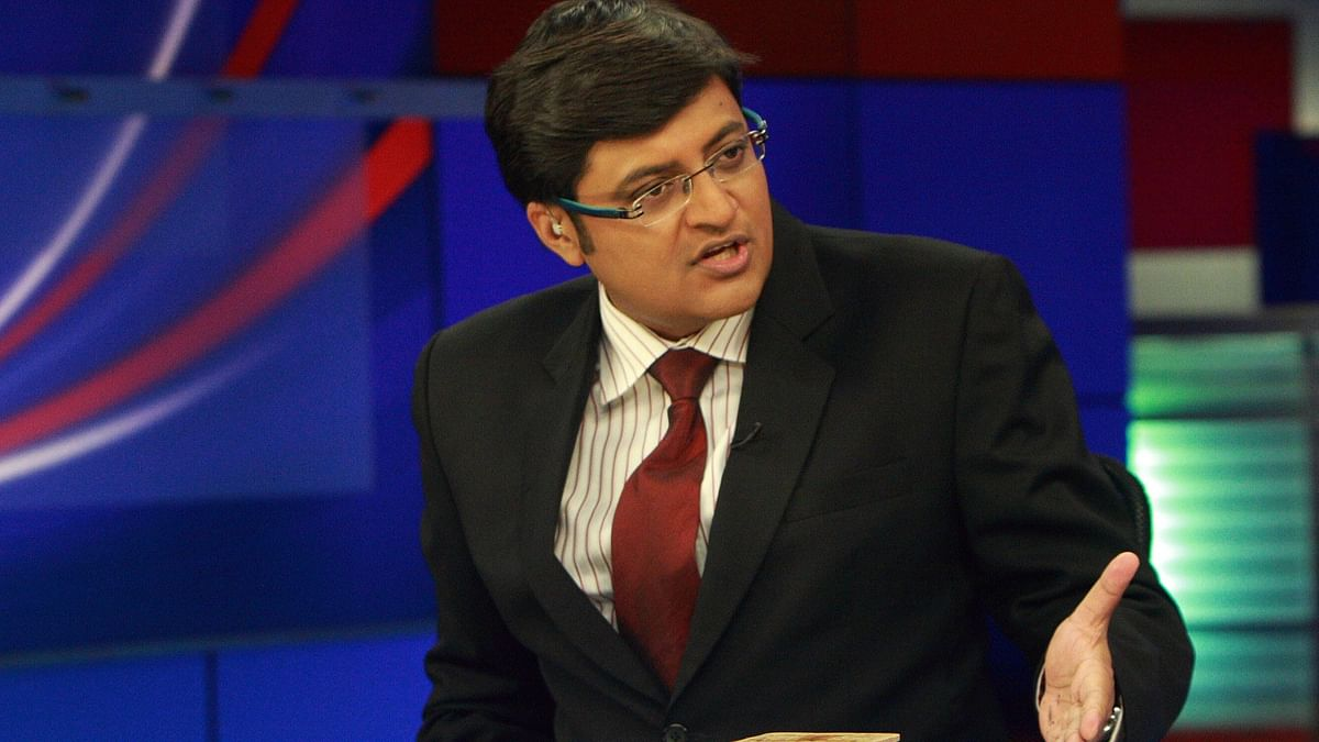"""The test broadcasts of Goswami's Republic reportedly carry the catchphrase 'We are your voice'. (Photo Courtesy: <a href=""""http://www.youthkiawaaz.com/2016/03/arnab-goswami-is-good-for-indian-journalism/"""">youthkiawaaz.com</a>)"""