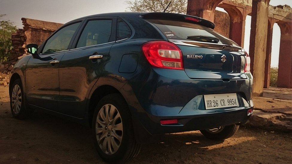 Maruti Baleno. (Courtesy: MotoScribes)