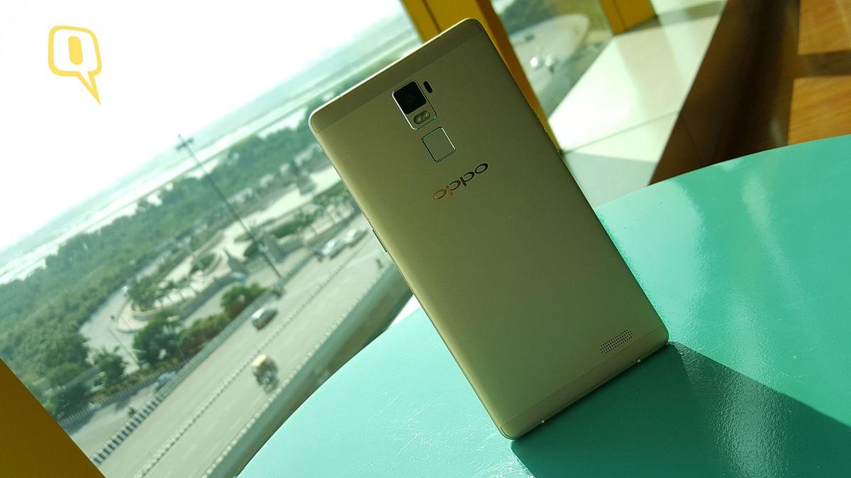 Oppo R7 Plus. (Photo: <b>The Quint</b>)