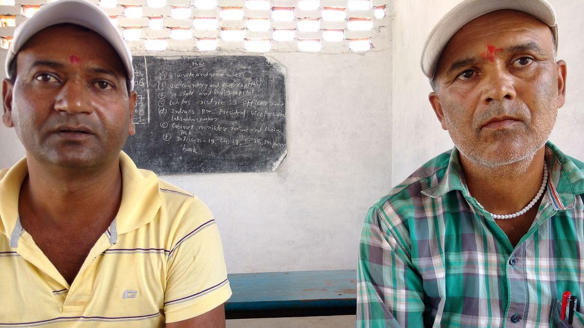 Kanhaiya Bhagat (left) and Dayanath Pandey. (Photo: The Quint)