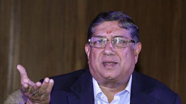 N Srinivasan said that what people call favouritism is really his respect for a top-class cricketer's achievements.