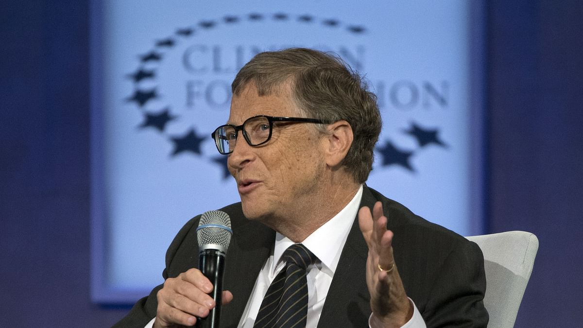 File photo of Microsoft founder Bill Gates.