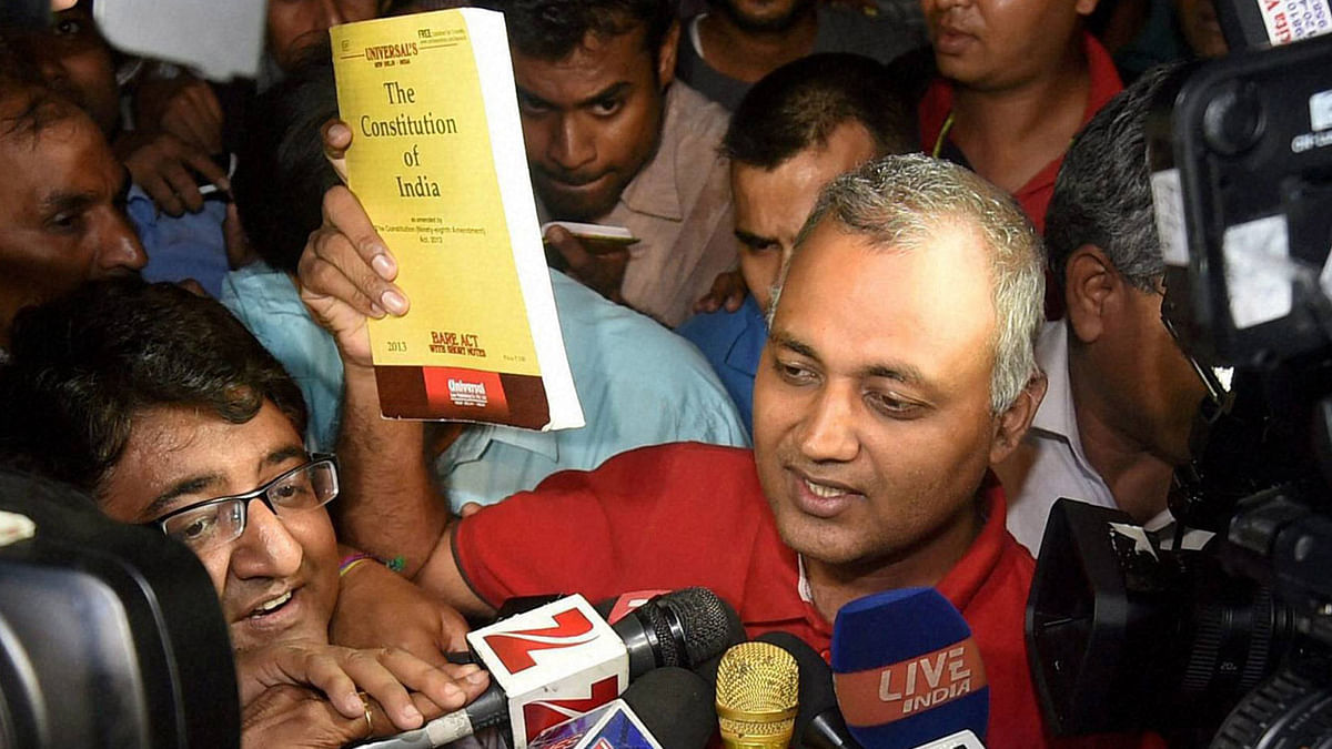 Somnath Bharti Is Hoodwinking the SC but Are Judges Faultless?