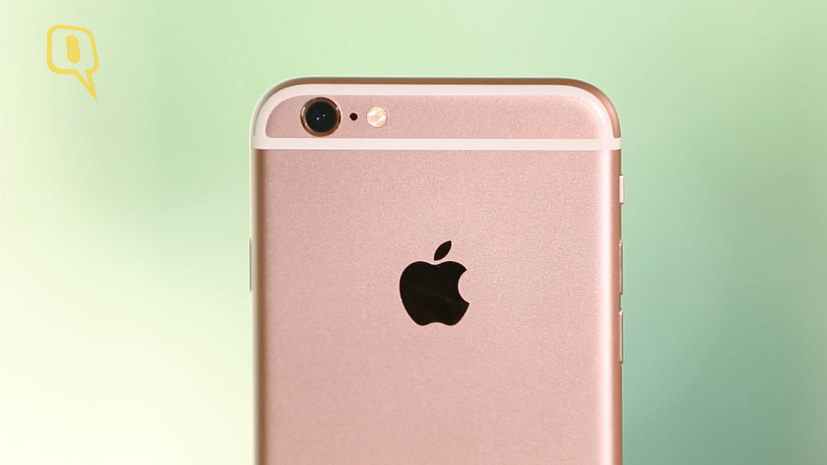 12-megapixel iSight camera on the iPhone 6s. (Photo: The Quint)