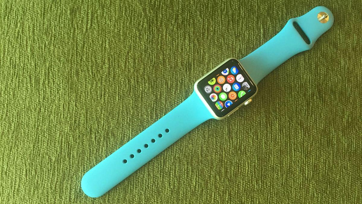 Apple Watch. (Photo: <b>The Quint)</b>