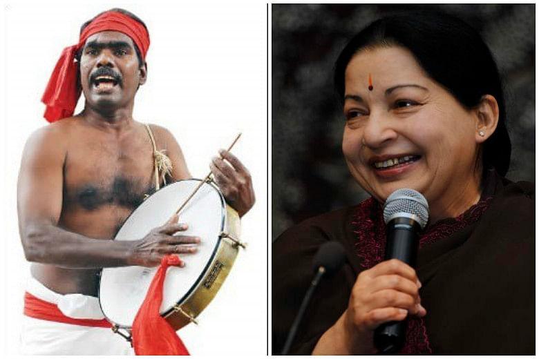 Kovan and Jayalalithaa. (Photo Courtesy: The News Minute)