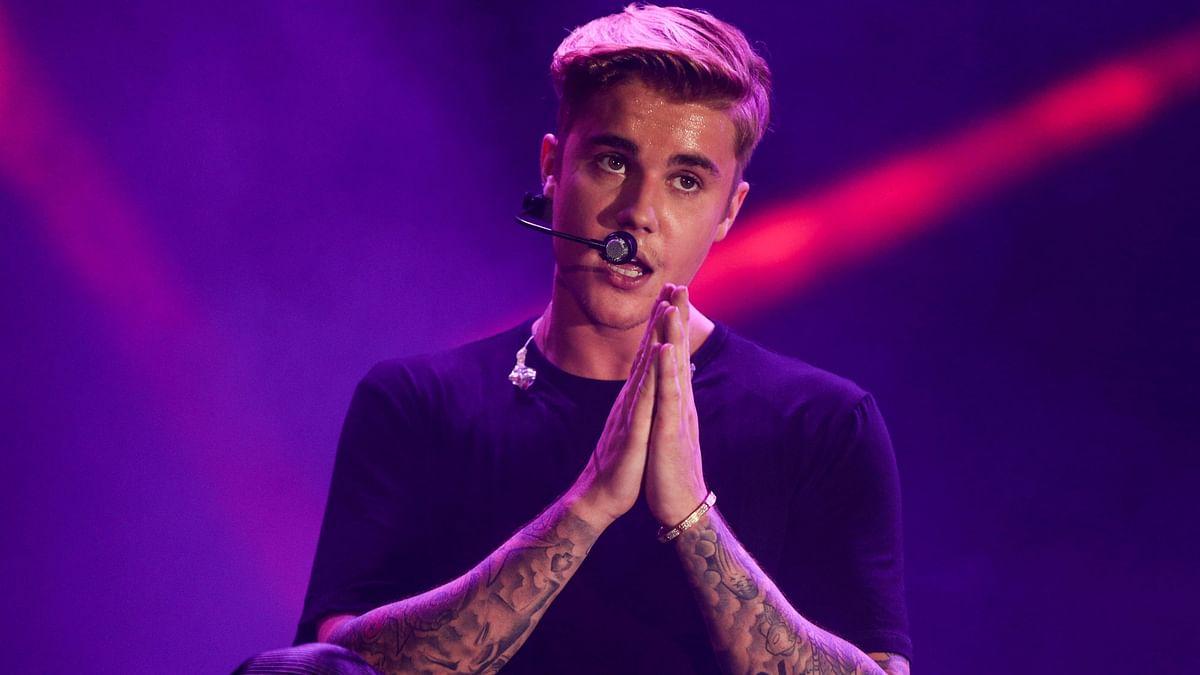 Pop star Justin Bieber. (Photo: AP)